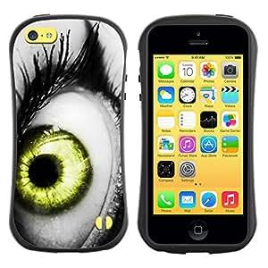 "Pulsar iFace Series Tpu silicona Carcasa Funda Case para Apple iPhone 5C , Vibrante Gris Blanco Negro Verde Profundo"""