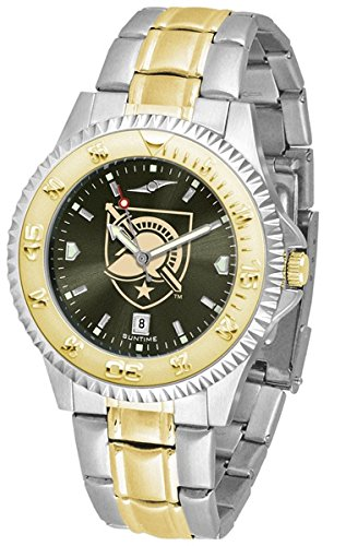 Army Black Knights Competitor Two-Tone AnoChrome Men's Watch by SunTime