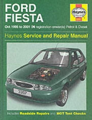 ford fiesta 95 01 service and repair manual haynes service and rh amazon com ford festiva service manual ford festiva service manual