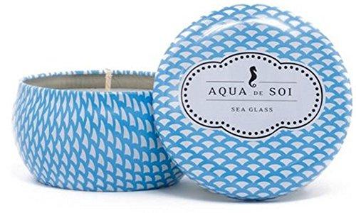 The SOi Company Aqua de SOi 100% Premium Natural Soy Candle, 9 Ounces (Sea ()