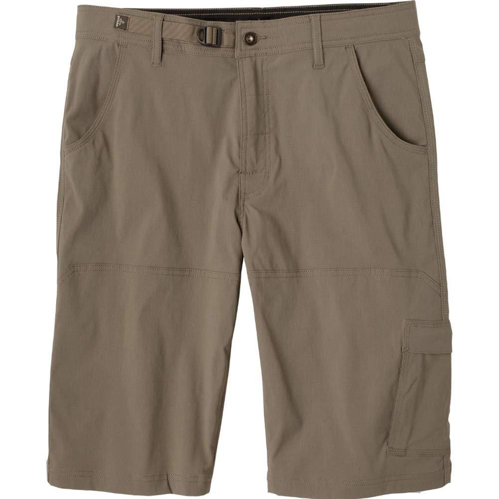prAna Men's Stretch Zion Short 10'' Inseam, Mud, 42W 10L