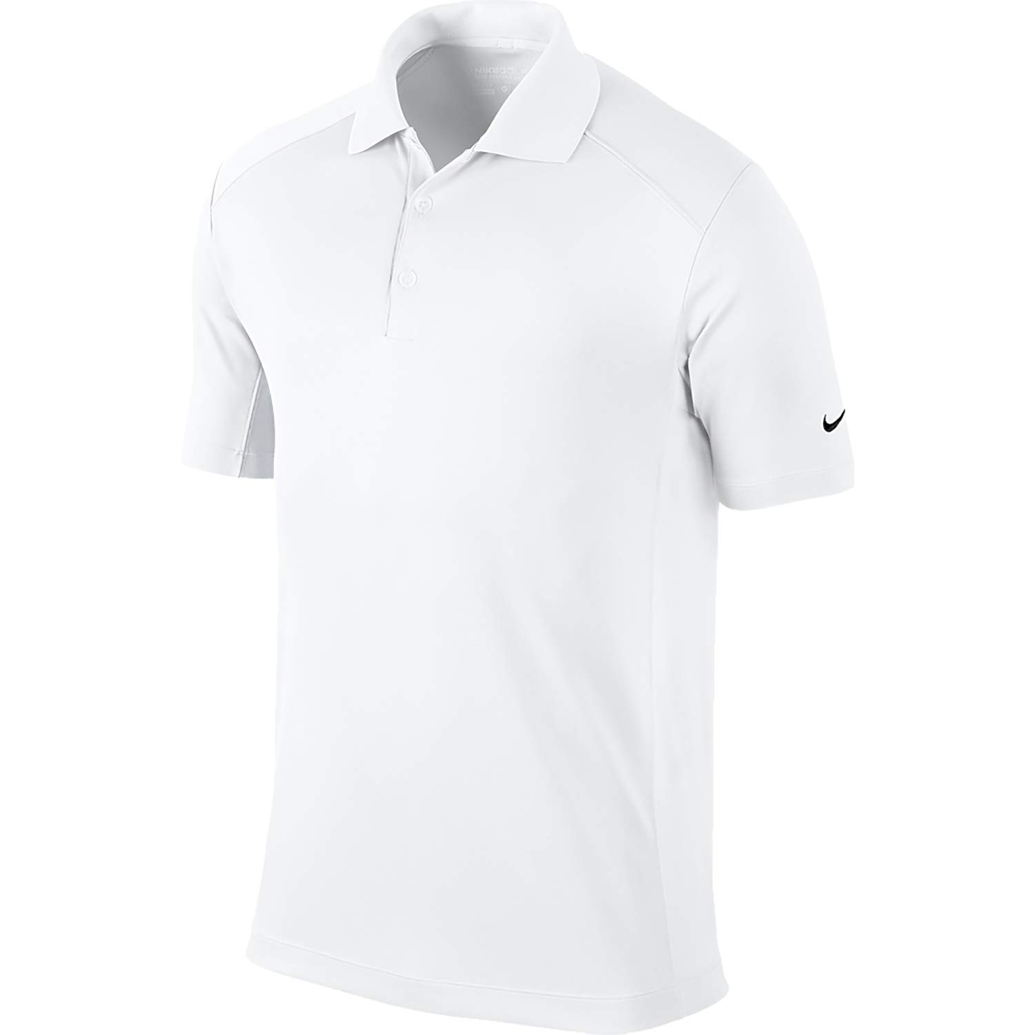 NIKE Men's Dry Victory Polo, White/Black, Large by Nike