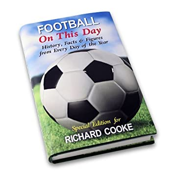Amazon football on this day book personalised birthday present football on this day book personalised birthday present easter gift by pmc negle Image collections