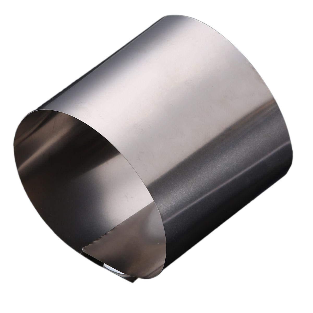 0.4mm x 200mm x 300mm Titanium Foil Plate Sheet TA2 99/% Purity