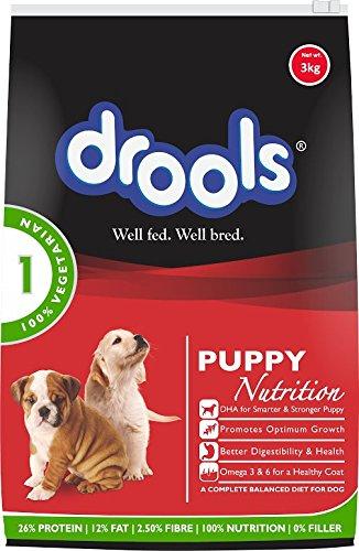 Drools Adult 100% Vegetarian Dog Food, 3 kg