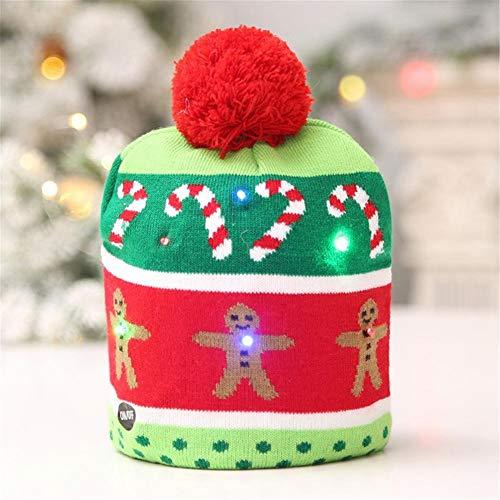 Shine-U Christmas LED Light Up Hat 5e69bb3d4560