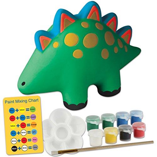 Piggy Bank Craft - Stephen Joseph Paint Your Own Bank, Dino