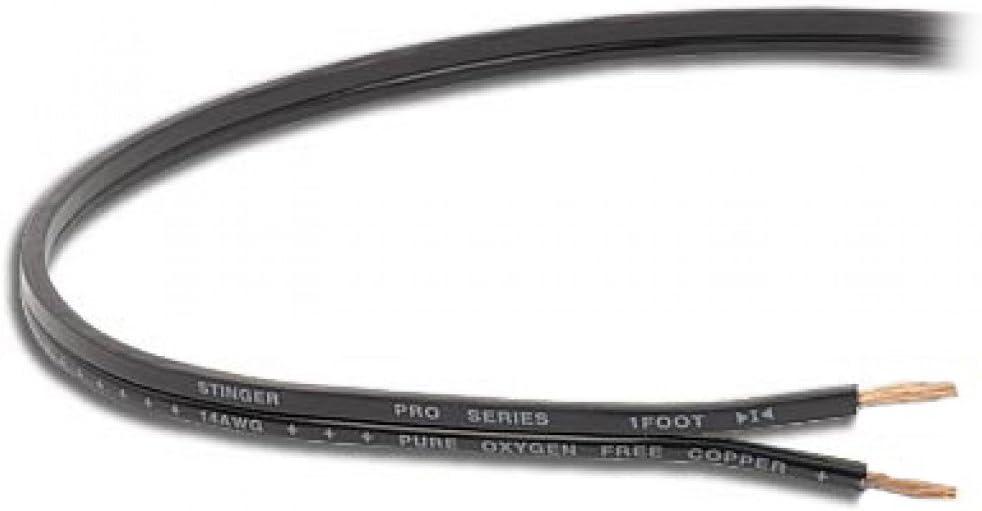 Stinger SPW516BK PRO Series 16 Gauge Primary Wire 500-Feet Black