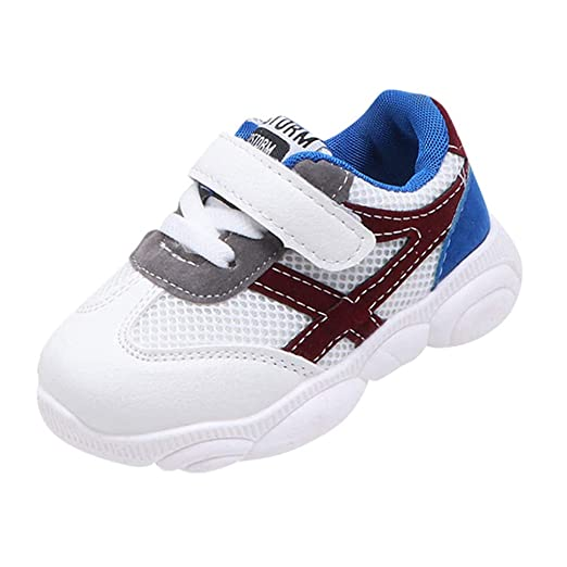 3c83a8666d6a7 Amazon.com: Fashion Mesh Sneakers Shoes for 1-6 Years Little Kids ...