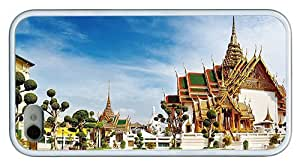 Hipster custom made iPhone 4 cover Grand Palace Bangkok White for Apple iPhone 4/4S