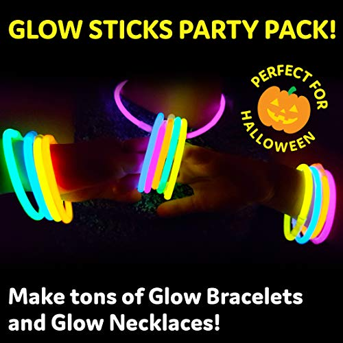 Stand out with glow sticks
