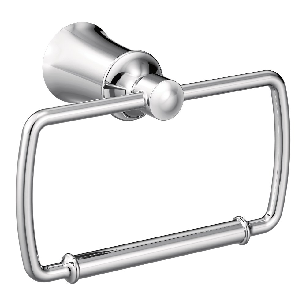 Moen YB2186CH Dartmoor Towel Ring, Chrome