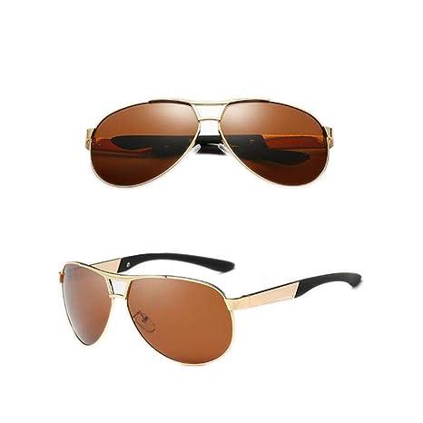 GEXING Gafas Sol polarizadas Protección Ultravioleta Redonda ...