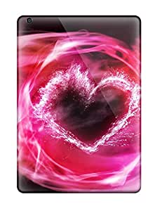 Anti-scratch And Shatterproof Pink Smoke Phone Cases For Ipad Air/ High Quality Tpu Cases