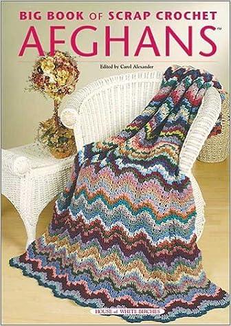 Big Book Of Scrap Crochet Afghans Carol Alexander 9781592170043