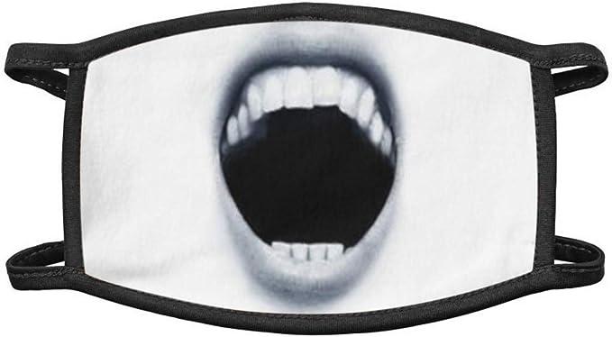 Myun Mundschutz Multifunktionstuch 3D Druck Lustig Bandana Maske Waschbar Wiederverwendbar Stoffmaske Bedeckung Atmungsaktiv Mund-Nasenschutz Mund Nasen Motiv Halstuch Schals f/ür Herren Damen