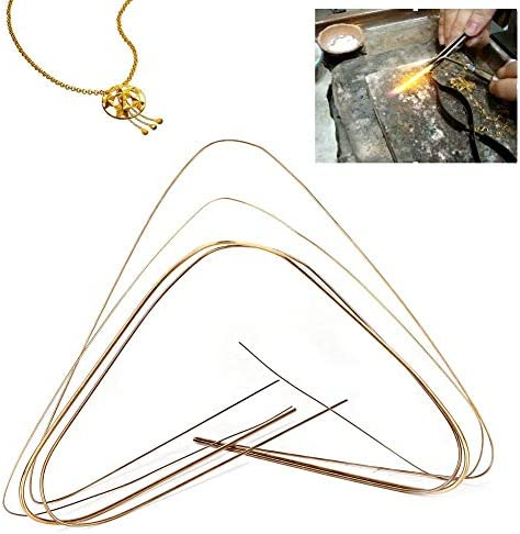 Copper Welding Rods 4 Size Welding Cored Wire for Chemistry Jewelry Making for Electric Power