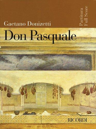 Don Pasquale (Inglese) Copertina flessibile – 1 dic 2005 Gaetano Donizetti Ricordi - Bmg Ricordi 1423403487 Classical style
