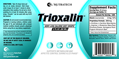 Trioxalin – Transform your Body with Nutratech VLC Drops! Scientifically Engineered to Burn Fat, Suppress Appetite, Lose Weight. Ultra Concentrated New Formula!