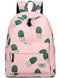 Mygreen School Bookbags for Girls Cute Pink Cactus Backpack College Bag Deal (Small Image)