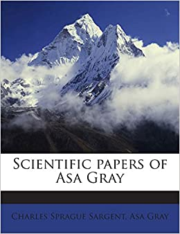 Book Scientific Papers of Asa Gray