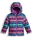 The North Face Toddler Girl's Reversible Mossbud Swirl Jacket - Algiers Blue Fair Isle Print - 3T (Past Season)