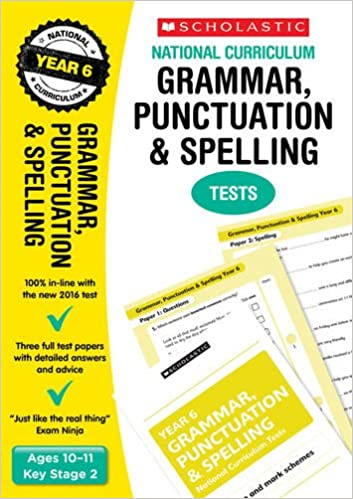Grammar, Punctuation and Spelling Test - Year 6 (National ...