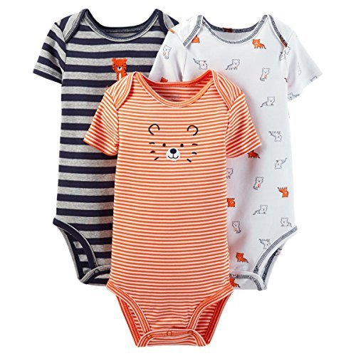 - Carter's Just One You Baby Girls' 3 Pack Ladybug/Print Bodysuits (18M)