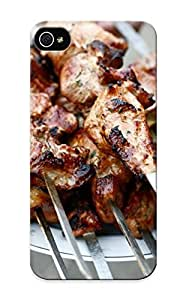 AWOaYRg1634NwcMp Tpu Phone Case With Fashionable Look For Iphone 5/5s - Chicken Kebab Case For Christmas Day's Gift