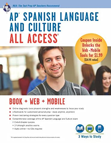 AP Spanish Language and Culture All Access w/Audio (Advanced Placement (AP) All Access) (Kindle Audio Ap)