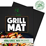 BBQ Grill Mats, Silicone Baking Mat , Baking pans and mats, 100% Non-stick Chef Special,Non Slip Silicone Grill pans | Works on Any BBQ Grill or As Pan Liner