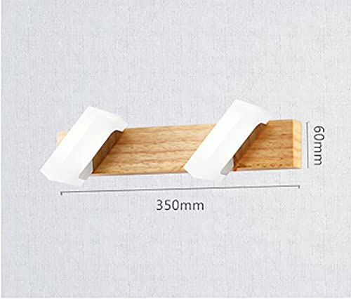 Flashing- LED-Spiegel-Scheinwerfer Moderne minimalistische Badezimmer Beleuchtung Wassernebel Holz Dresser Spiegelleuchten Wandleuchten ( größe : 2 Lights )