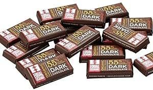 Equal Exchange Organic Chocolate 55% Dark Minis, 70 - 4.5 Grams