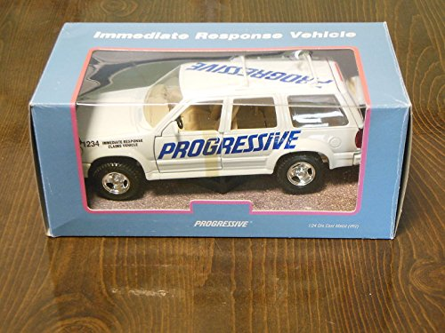 1 24 Die Cast Model Progressive Insurance Immediate Response Claims Vehicle
