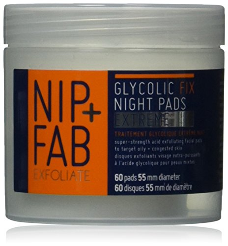 Nip + Fab Glycolic Fix Night Pads Extreme, 2.7 Ounce (Pads Glycolic)