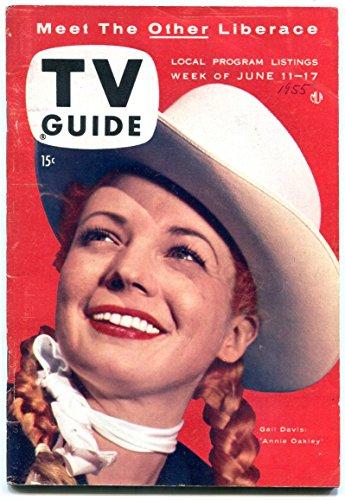TV Guide June 11 1955- Northern California- Annie Oakley Gail - California Oakley Store