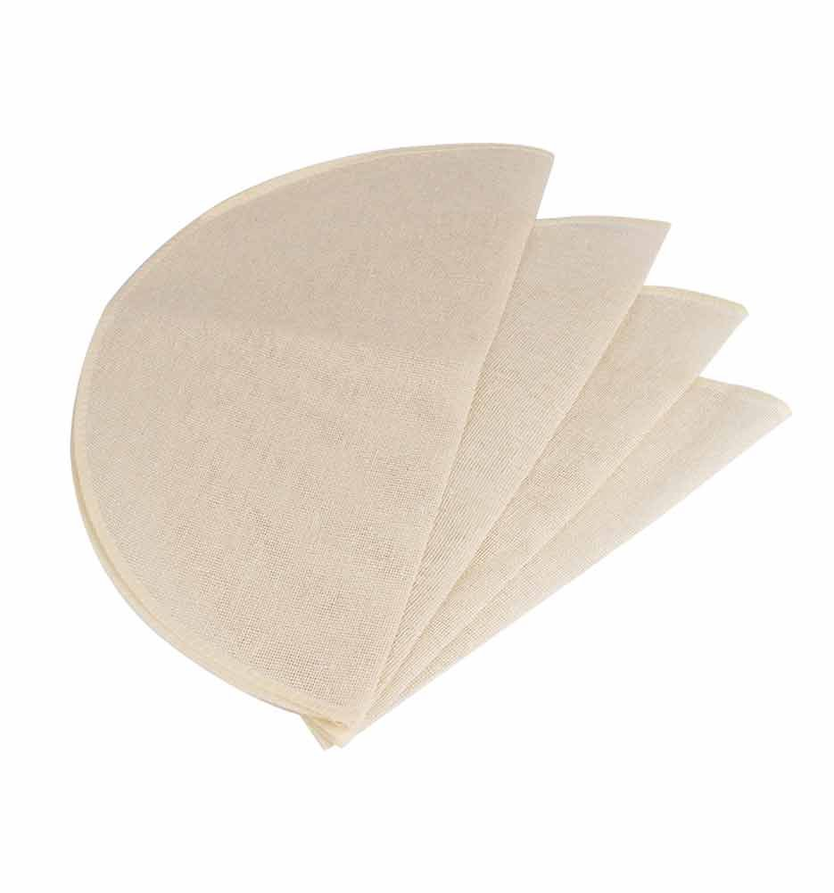 CONIE 100% Cotton Reusable Liners for Bamboo & Digital Food Steamer 14 Inch - 3 Pack Cheesecloth