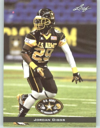2012 Leaf US Army All -American Bowl Rookie Football Card #15 Jordan Diggs DB - South Carolina - Island Coast Cape Coral FL Coral Db Coral
