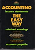 Accounting the Easy Way, Eisen, Peter J., 0812041879