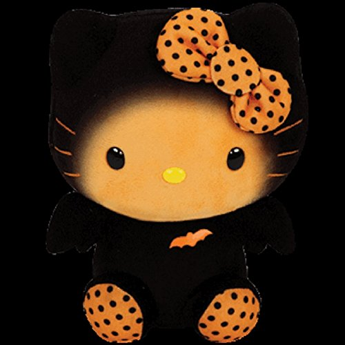 Hello Kitty Halloween Plush (Ty Inc Beanie Plush Stuffed Animal Hello Kitty-Bat)