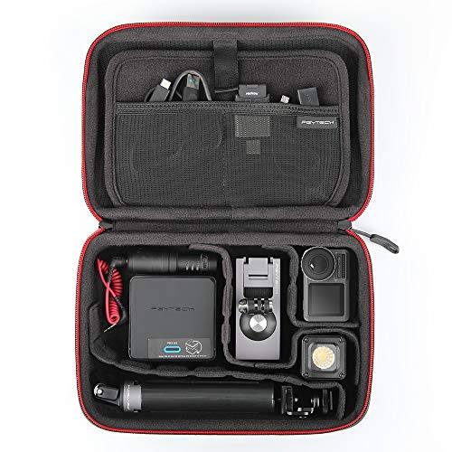 (PGYTECH Osmo Pocket Carrying Case, Storage Box Handbag Compatible with DJI OSMO Pocket Accessories)