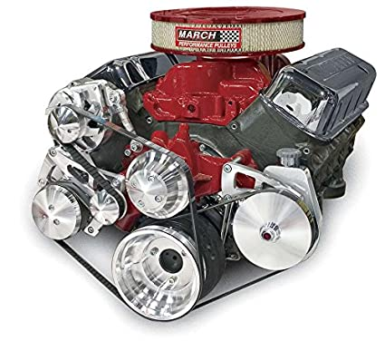 amazon com march performance big block chevy ultra pulley kit p n