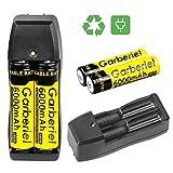 Best 18650 Batteries - 4 x 3.7V Li-ion 6000mAh 18650 Battery Rechargeable Review