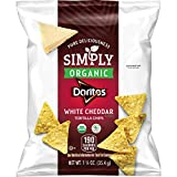 Doritos Simply Organic White Cheddar Tortilla Chips 1.25 ounce (Pack of 72)