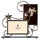 Burnes of Boston PS117364 Stars Wire 2 Opening Picture Frame, Venetian Copper