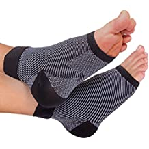 Plantar Fasciitis Compression sleeves - Shoe inserts for flat feet, Insoles, Inserts & Orthotics for Foot, Ankle Pain Relief for men, women, nurses, maternity, pregnancy, running & heel spur