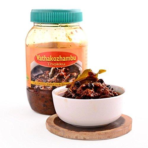 The Grand Sweets & Snacks Adyar Vathakozhambu Thokku (400g) (Best Ghee Brand In Chennai)