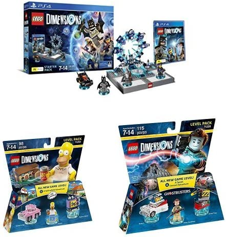 LEGO - Starter Pack Dimensions (PS4) + Level pack: Los ...