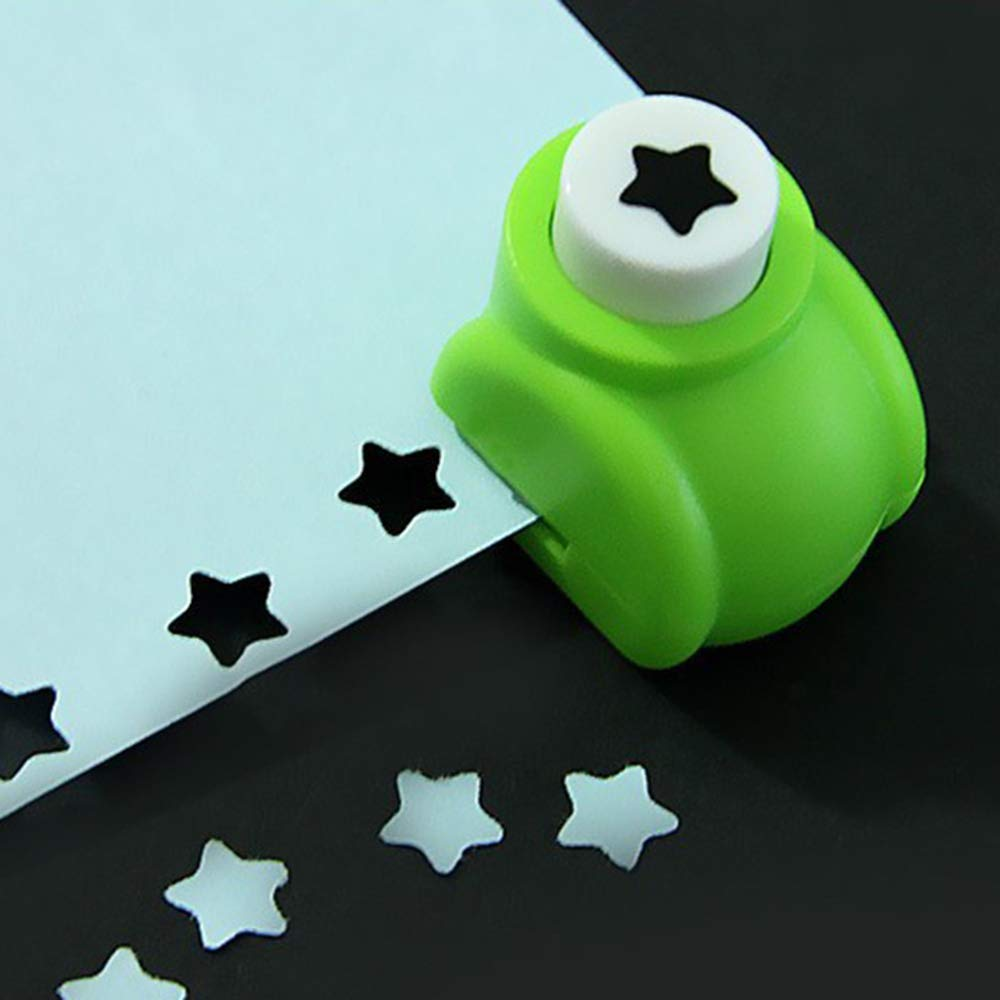 1.3 inch Windmill 1 Paper Punches Cute Multi-Pattern Scrapbooking Punches Kid Craft DIY Scrapbook Paper Punchers DIY Album Accessories Size 1.4