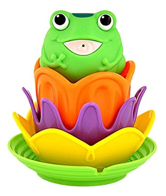 Munchkin Magic Color Lily Pad Stacker by Munchkin
